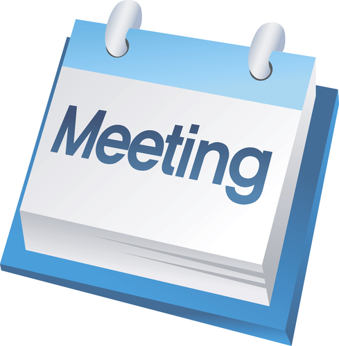 Image result for meeting sign